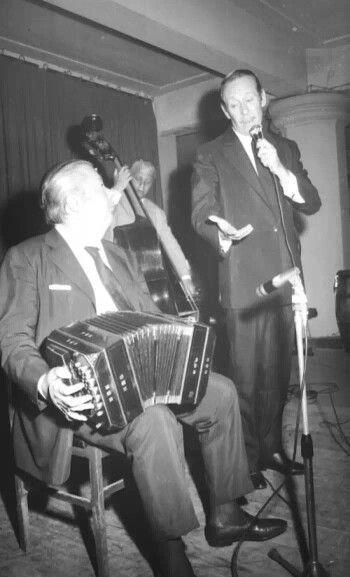 Anibal Troilo. Argentine music at Escuela de tango de Buenos Aires.