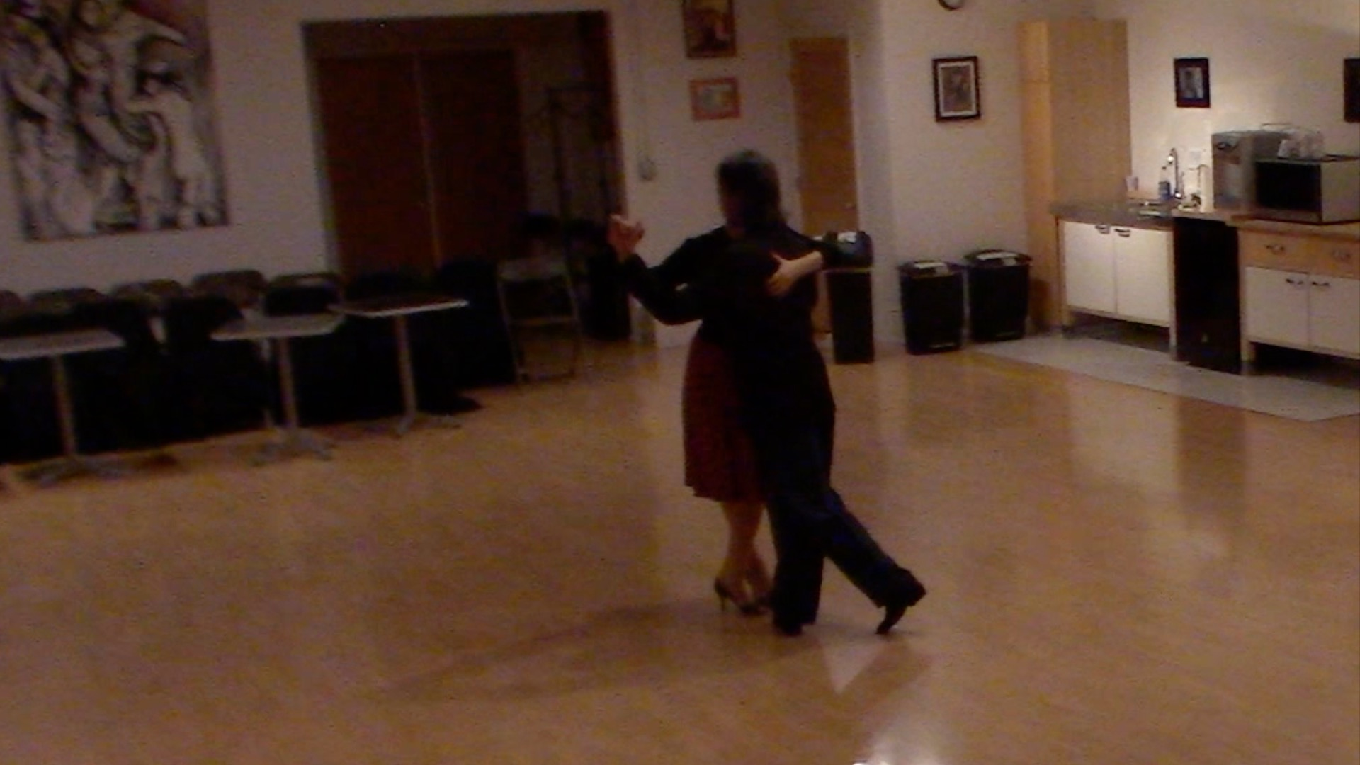 Argentine Tango beginner class with Miranda: salida cruzada or salida del 40
