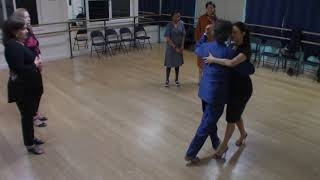 Argentine Tango beginner class with Miranda- vals, change of direction