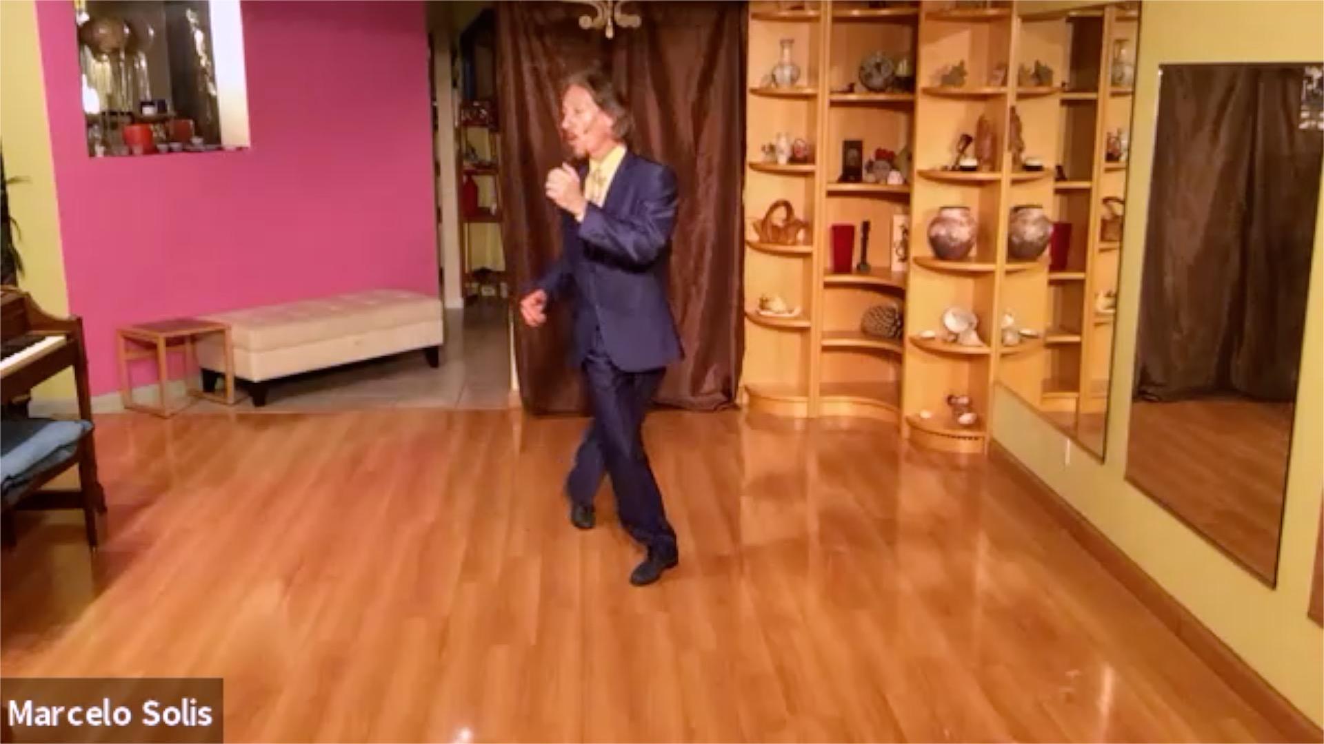 Argentine Tango class: change of direction forward ocho cortado