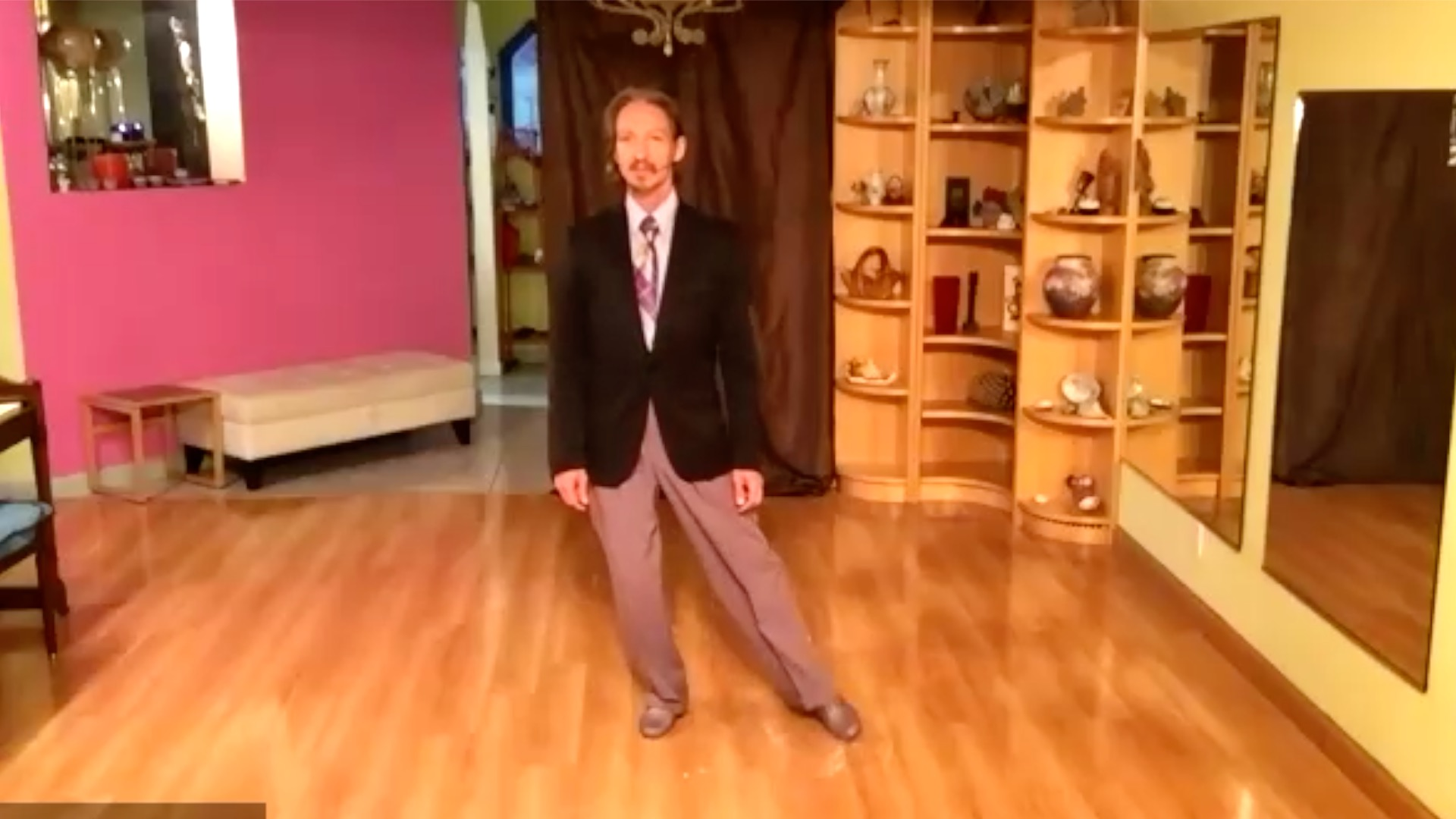 Argentine Tango class: circles exercise with Marcelo Solis