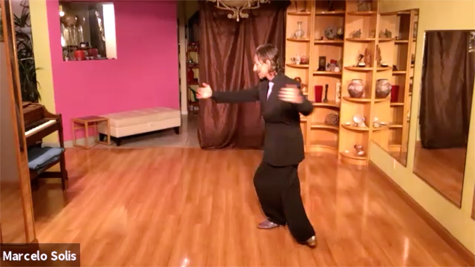 Argentine Tango class: complete sequence and follow me!