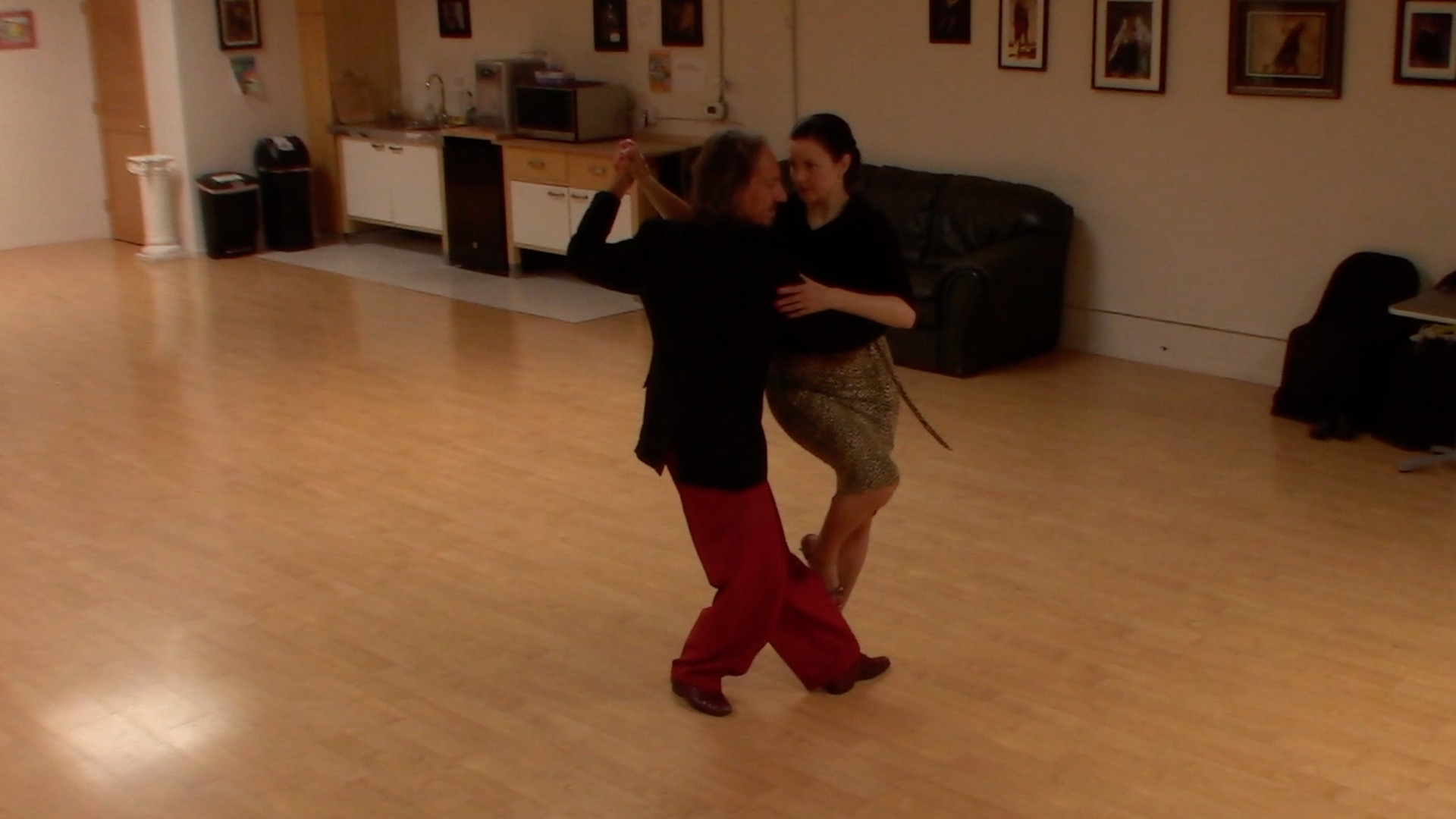 Argentine Tango class: complete sequence