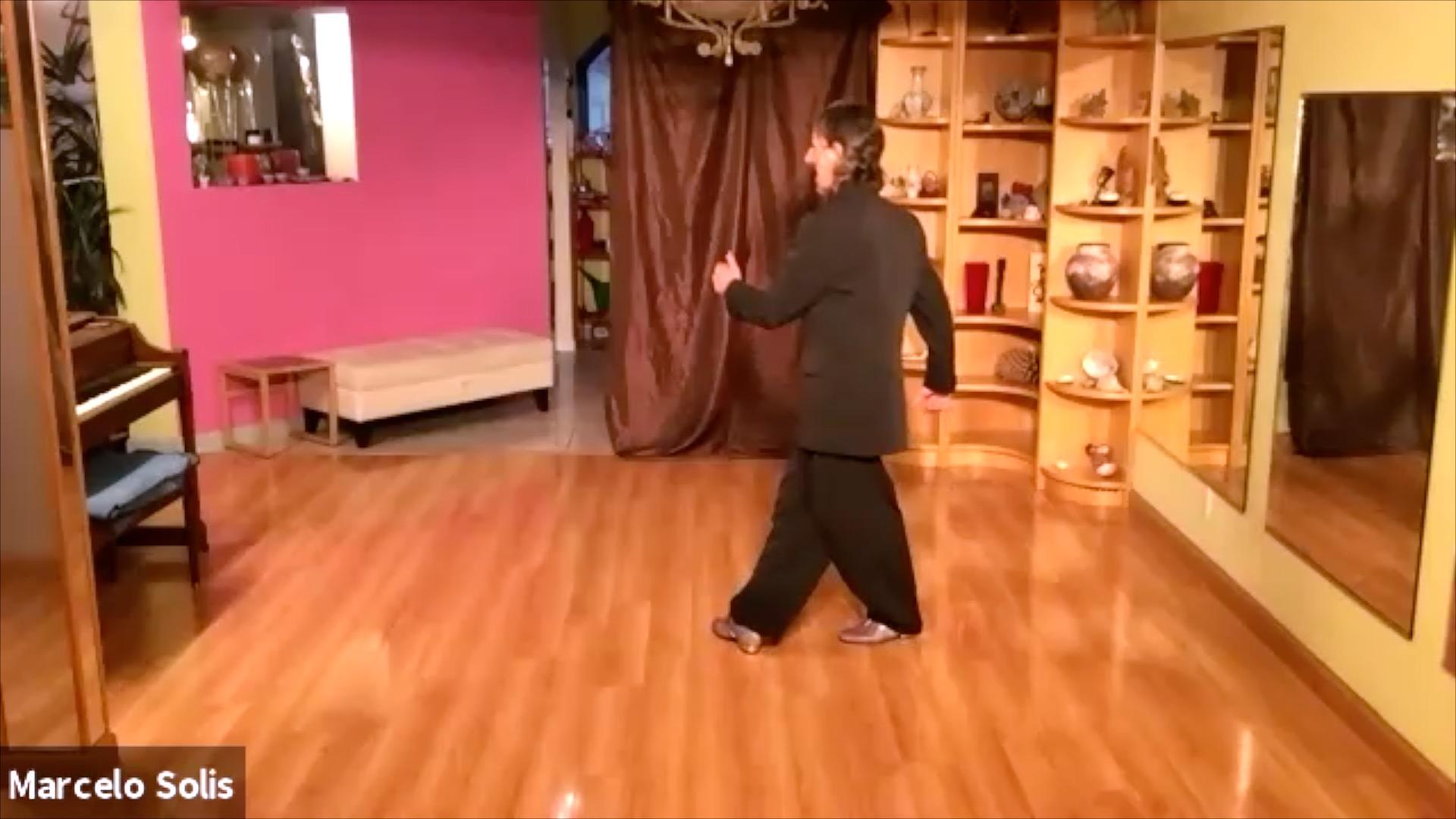 Argentine Tango class: forward ocho cortado