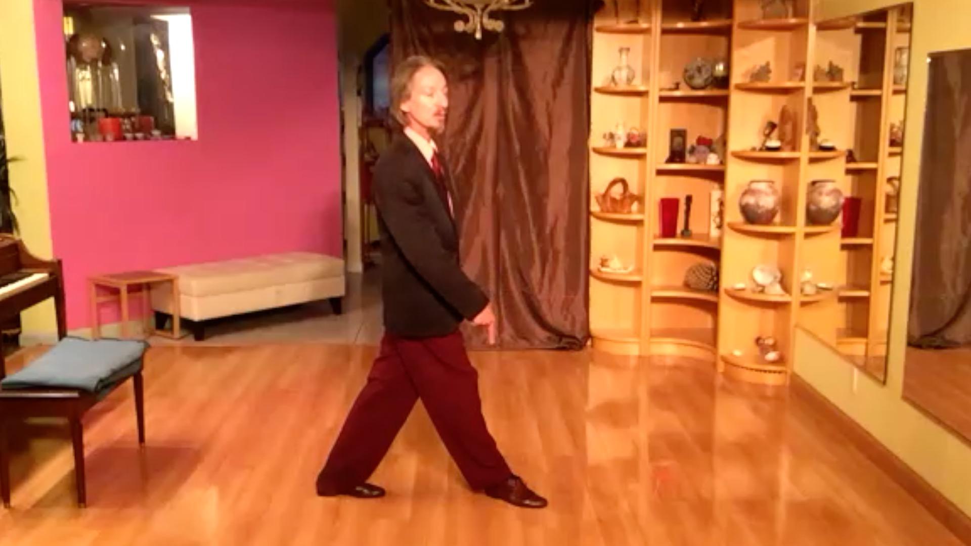 Argentine Tango class: pendulum exercise