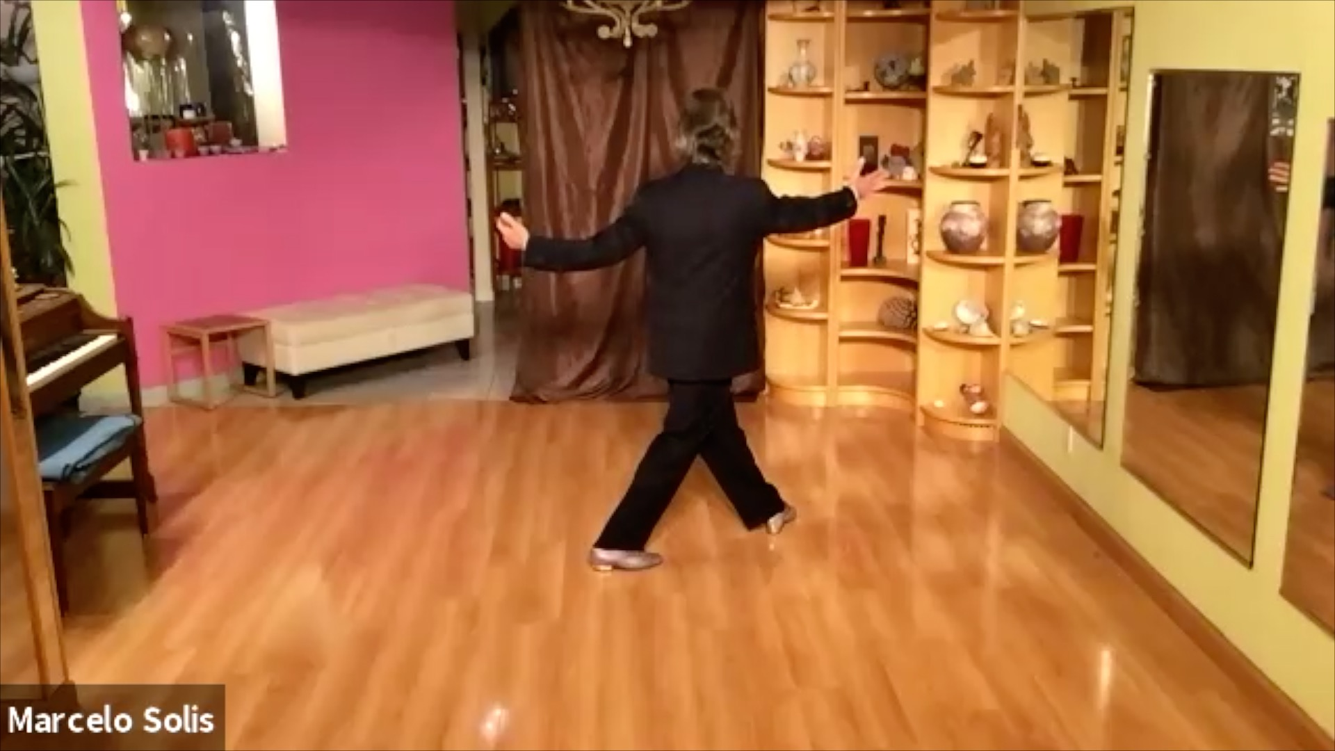 Argentine Tango class: sequence continuation (2)