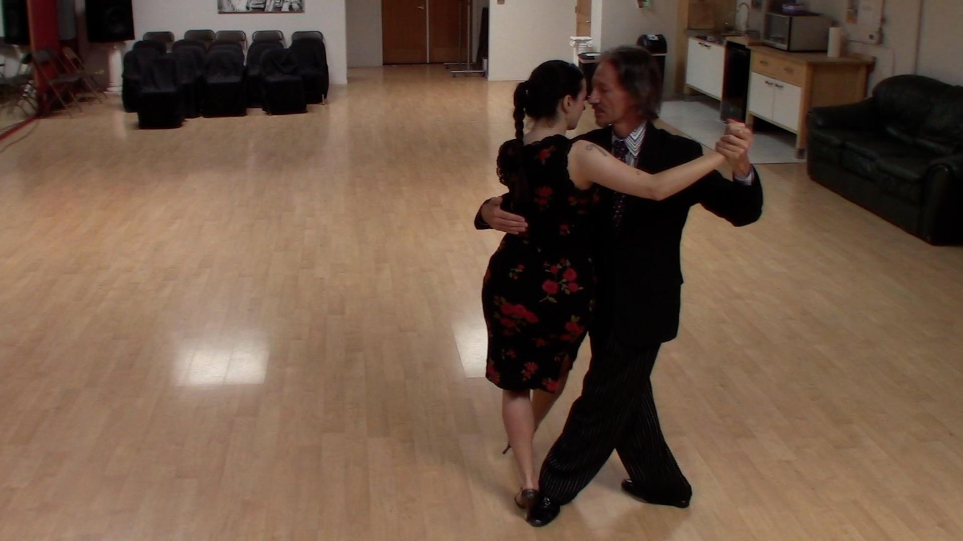 Argentine Tango dancing with Miranda