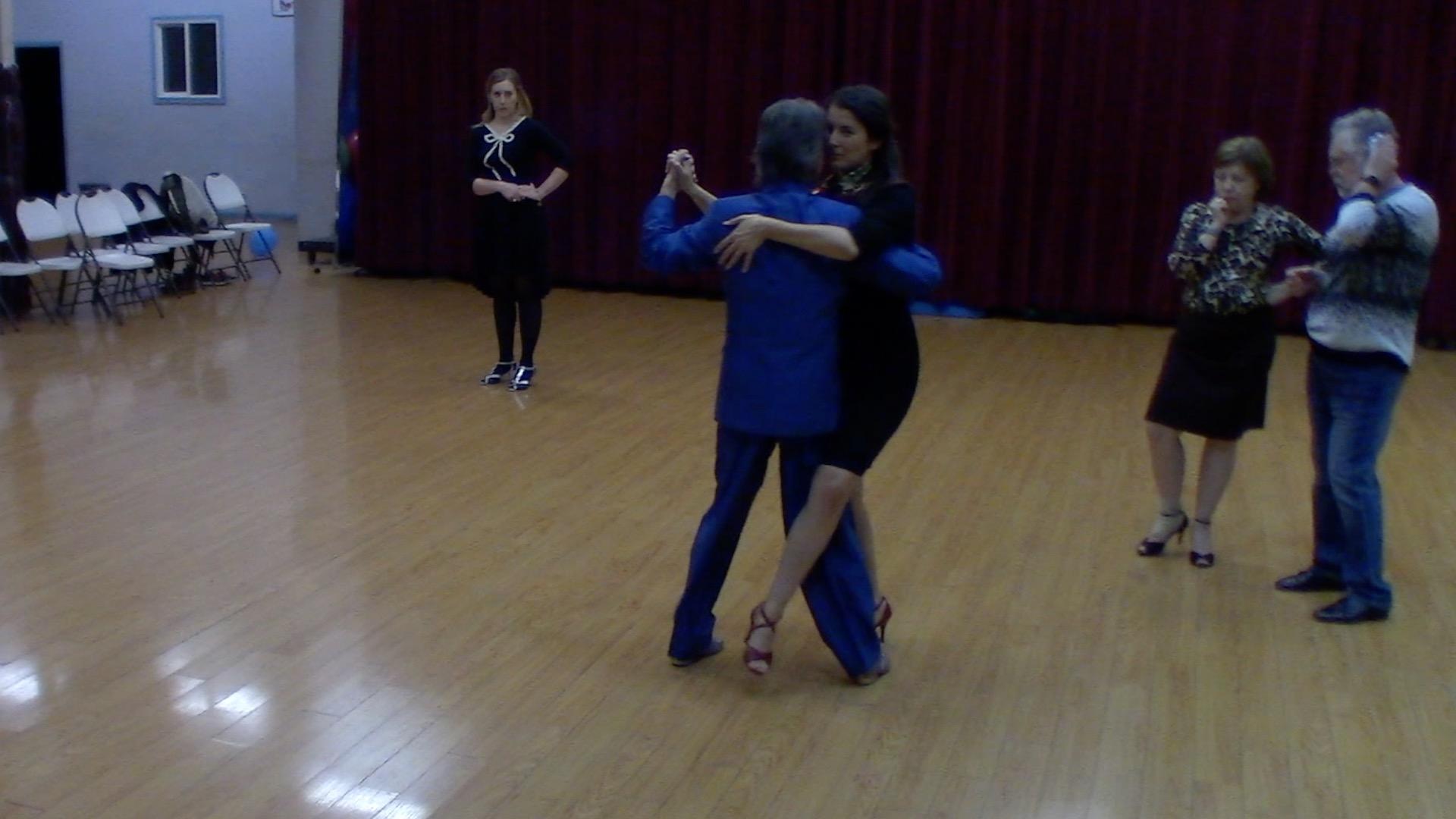 Argentine Tango intermediate class with Mimi: final review