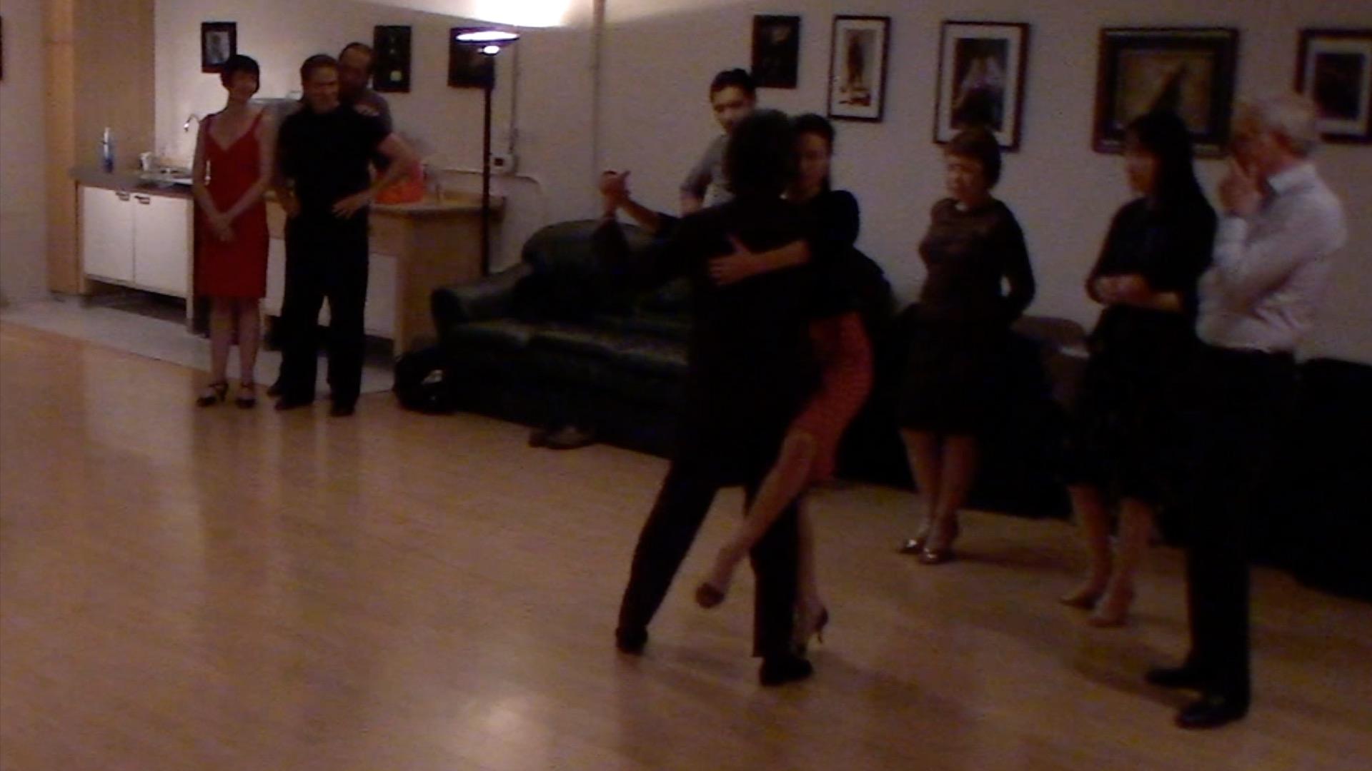 Argentine Tango intermediate class with Miranda: barridas