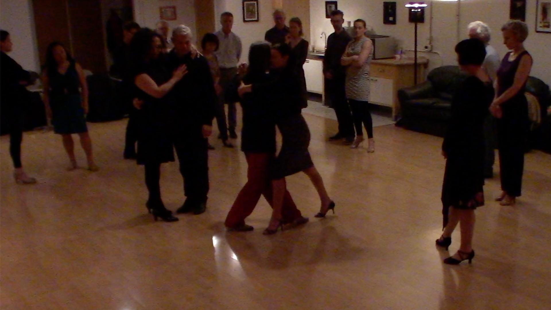 Argentine Tango intermediate class with Miranda: walking