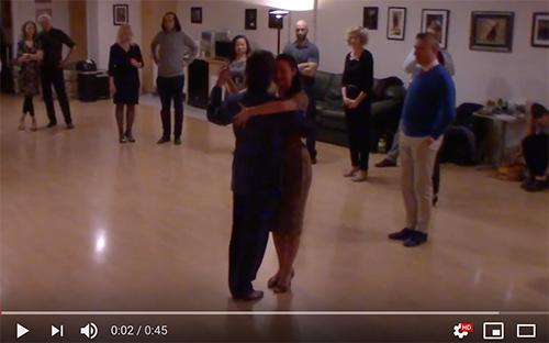 Argentine Tango intermediate class with Miranda_ corrida and americana