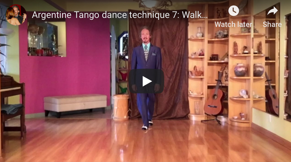 Argentine Tango technique 7 with Marcelo Solis