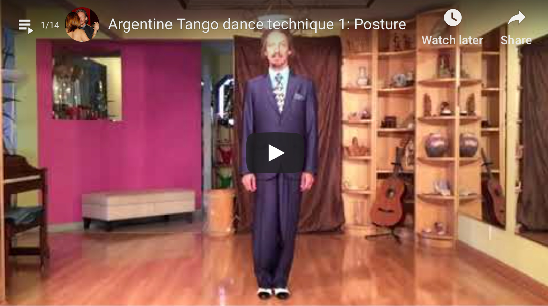 Argentine Tango technique 8: Pivots.With Marcelo Solis.