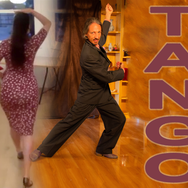 Argentine Tango virtual class with Miranda Lindelow and Marcelo Solis