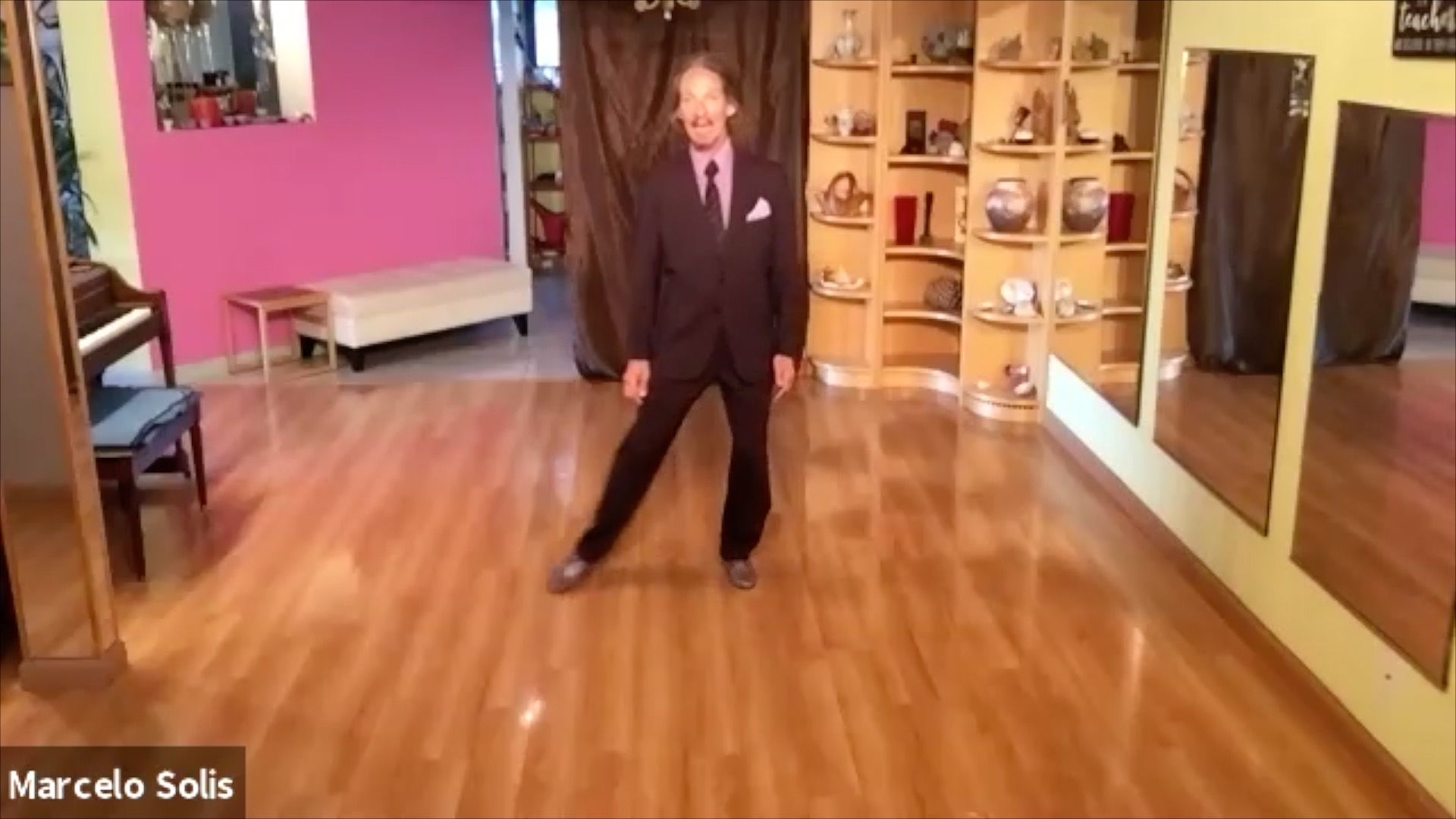 Argentine Tango virtual class: warming up exercises