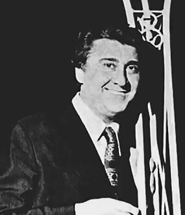 Armando Moreno, Argentine Tango singer. Portrait.