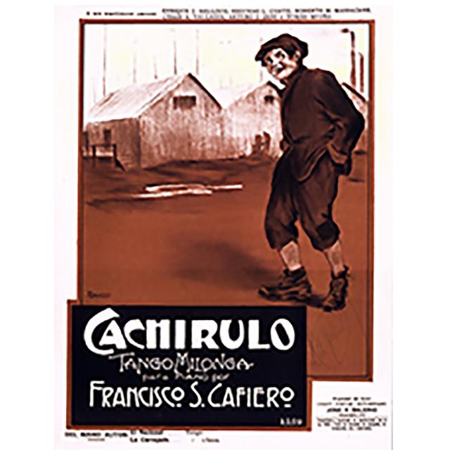 """""""Cachirulo"""", Argentine Tango music sheet."""