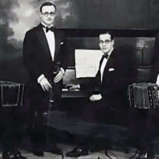 Edgardo & Osvaldo Donato, Argentine Tango musicians and composers.