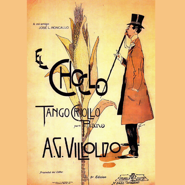 El Choclo, Argentine Tango music sheet cover.