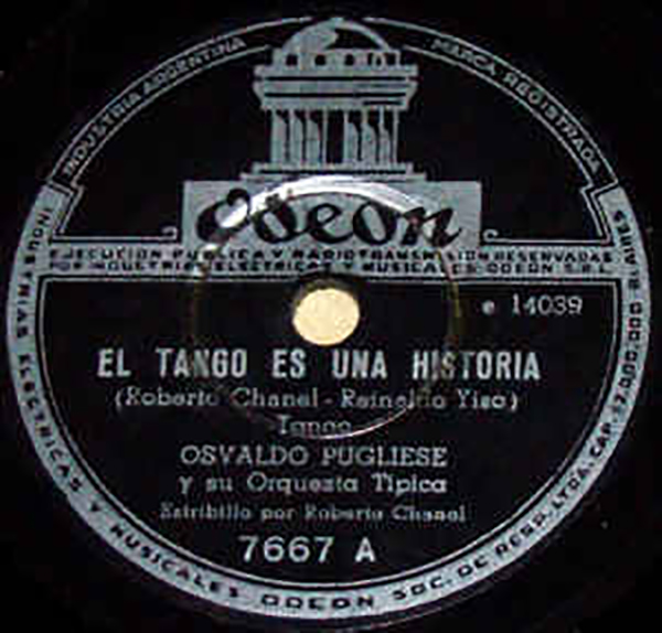 El Tango es una historia- Disco