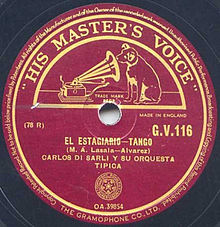El estagiario. Martín Lasala Álvarez. Argentine music at Escuela de Tango de Buenos Aires.
