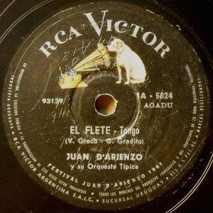 Juan D'Arienzo, the King of Rhythm.