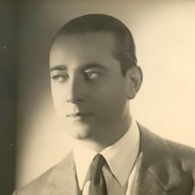 Enrique Cadícamo. Poet, lyricist, composer, writer and playwright. Argentine Tango.