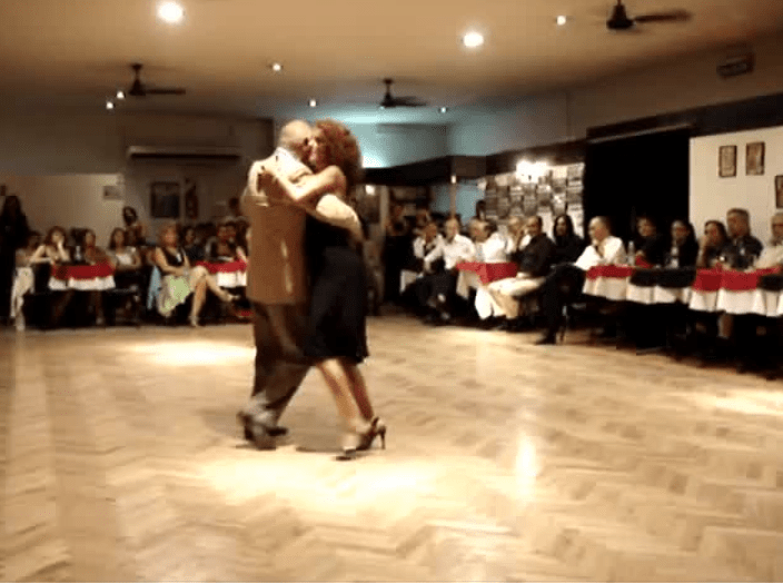 Argentine Tango performance | Enriqueta and Ruben in Buenos Aires