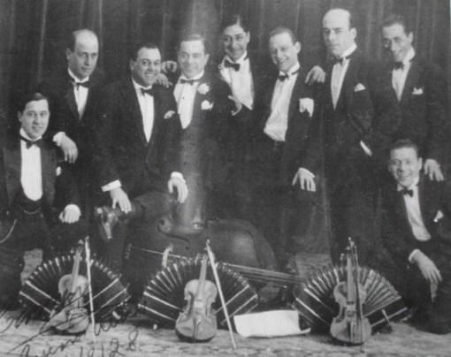 Francisco Canaro. Argentine music. Escuela de Tango de Buenos Aires.