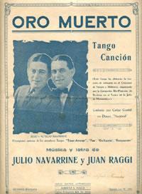 Jiron porteño. Argentine music at Escuela de Tango de Buenos Aires.