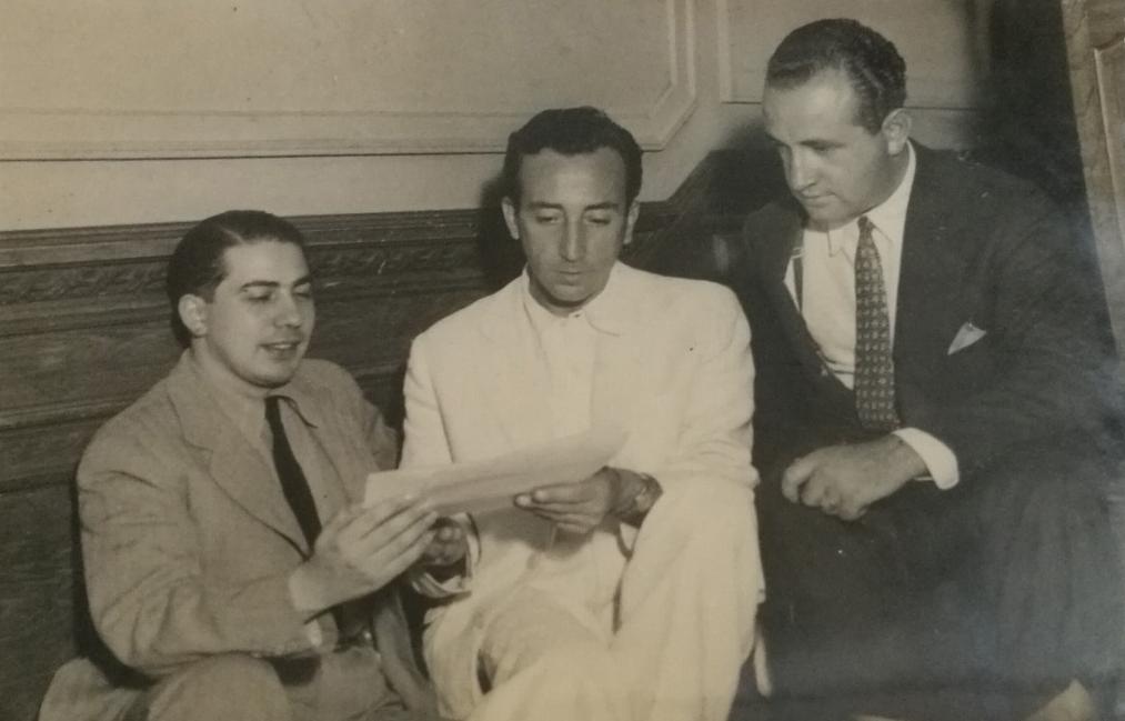 Juan Carlos Miranda. argentine music at Escuela de Tango de Buenos Aires.