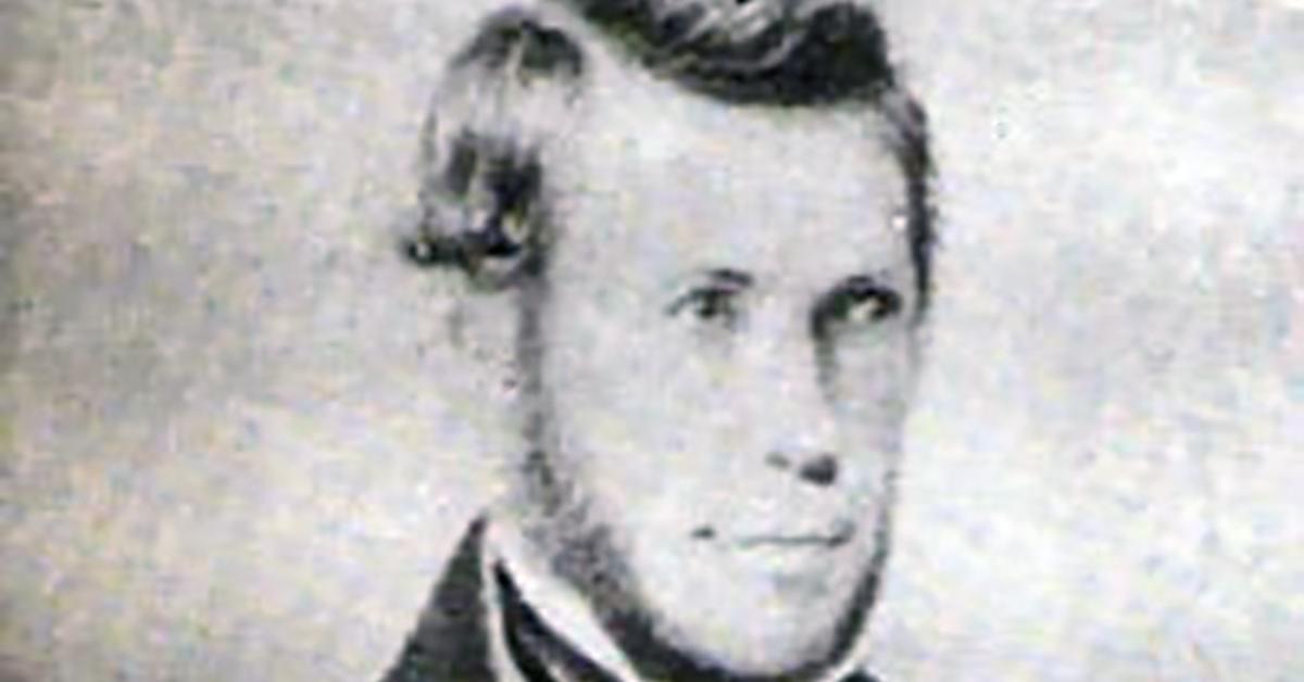 Juan María Gutiérrez, Argentine writer's portrait.