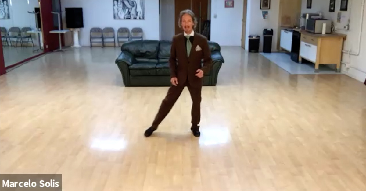 Marcelo Solis teaches Argentine Tango online