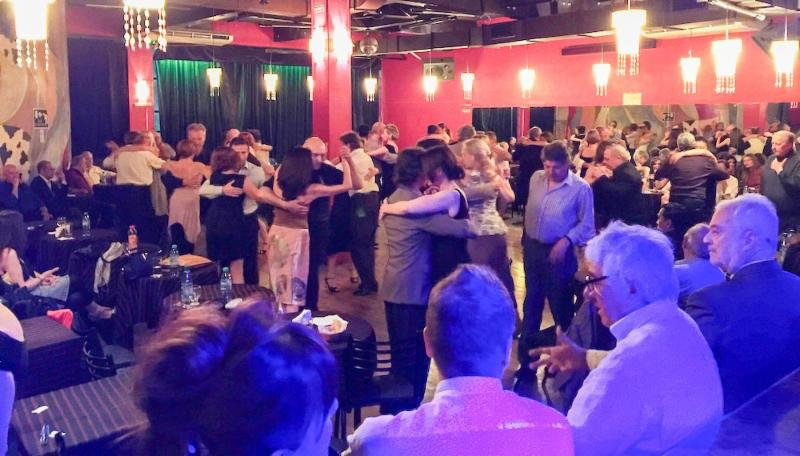 Milongueando. Argentine Tango dance party in Lafayette