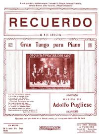 """Recuerdo"". Argentine music at Escuela de Tango de Buenos Aires."