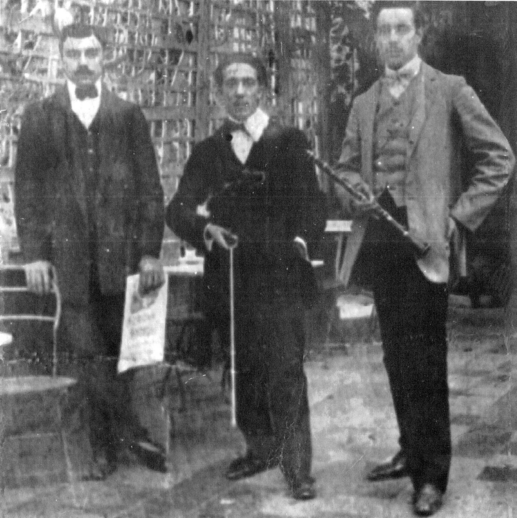 Roberto Firpo. Argentine music at Escuela de Tango de Buenos Aires. History.