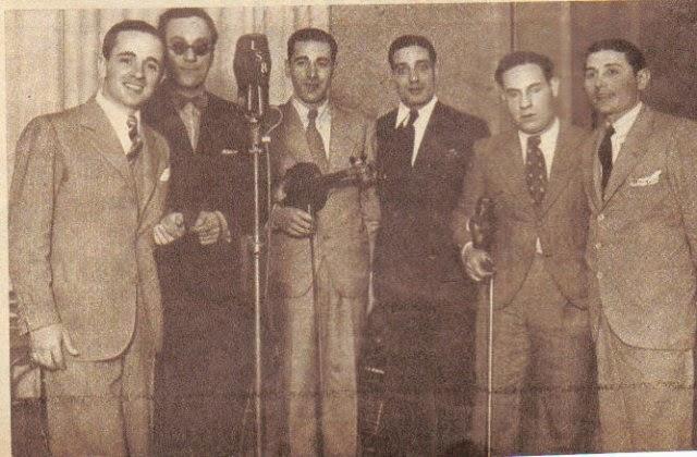 Sexteto Di Sarli y Fama en la radio. Argentine Tango music at Escuela de Tango de Buenos Aires