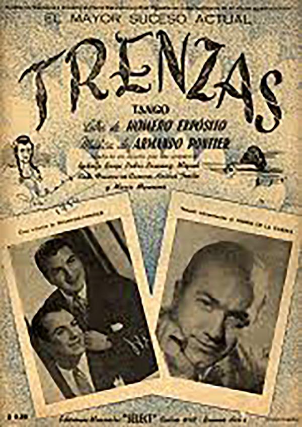 Trenzas, Argentine Tango music sheet cover