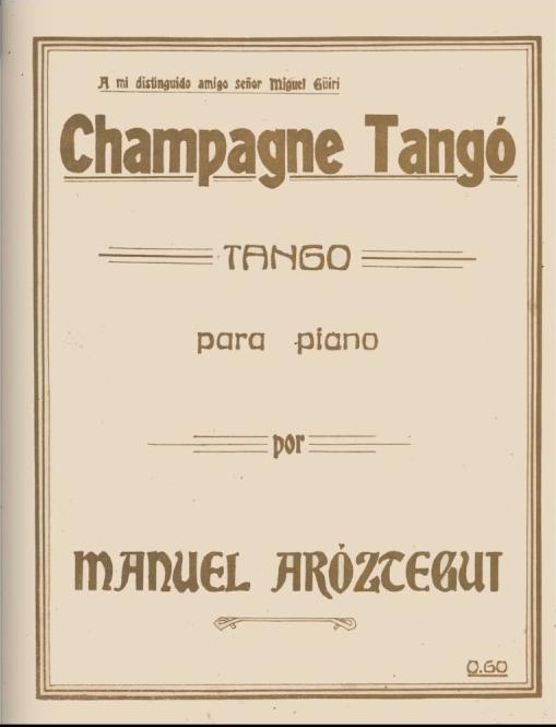 Champagne Tango. Argentine music at Escuela de Tango de Buenos Aires.