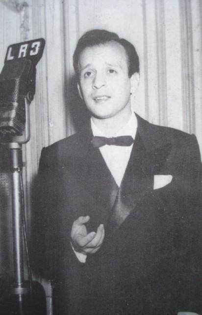 Roberto Rufino. Argentine music at Escuela de Tango de Buenos Aires.