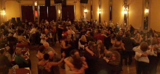 Dancing Argentine Tango at milongas