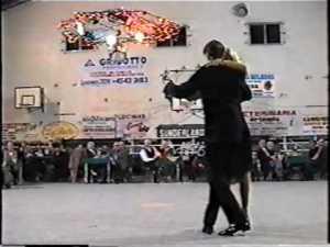 Muma & Flaco Dany Garcia. Maestros milongueros. Escuela de Tango de Buenos Aires.