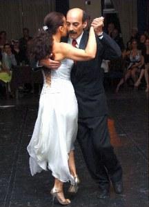 Ricardo Viqueira, maestro milonguero. Escuela de Tango de Buenos Aires.