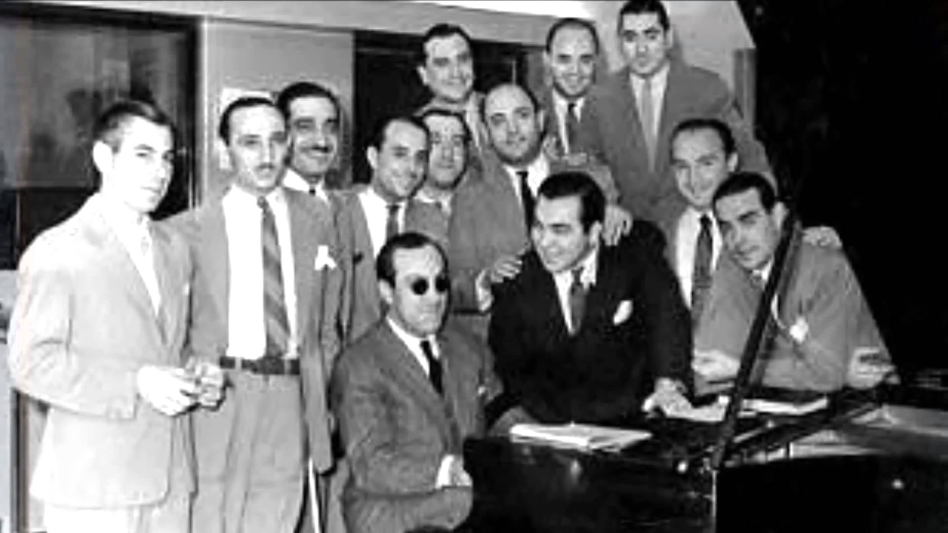 Carlos Di Sarli. History of Tango. Escuela de Tango de Buenos Aires. Marcelo Solis