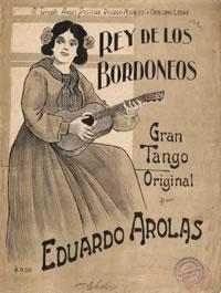 """""""El rey de los bordoneos"""" of eduardo Arolas. Escuela de Tango de Buenos Aires. History of Tango by Marcelo Solis."""
