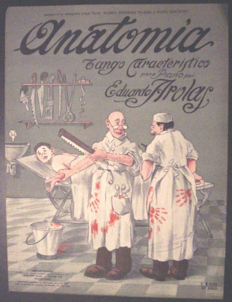 """Anatomía"" of Eduardo Arolas. Escuela de Tango de Buenos Aires. History of Tango by Marcelo Solis."