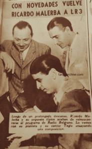 Ricardo Malerba. Argentine Music at Escuela de Tango de Buenos Aires.