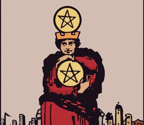 INFORME SEMANAL DE TAROT – 13-7: 4 de oros.