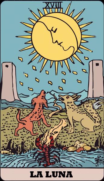 Carta de Tarot La Luna