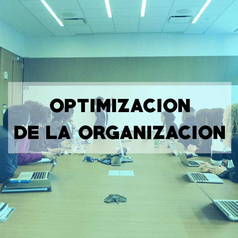 Optimización de la organización - Consultoria empresarial - Todo Es Uno